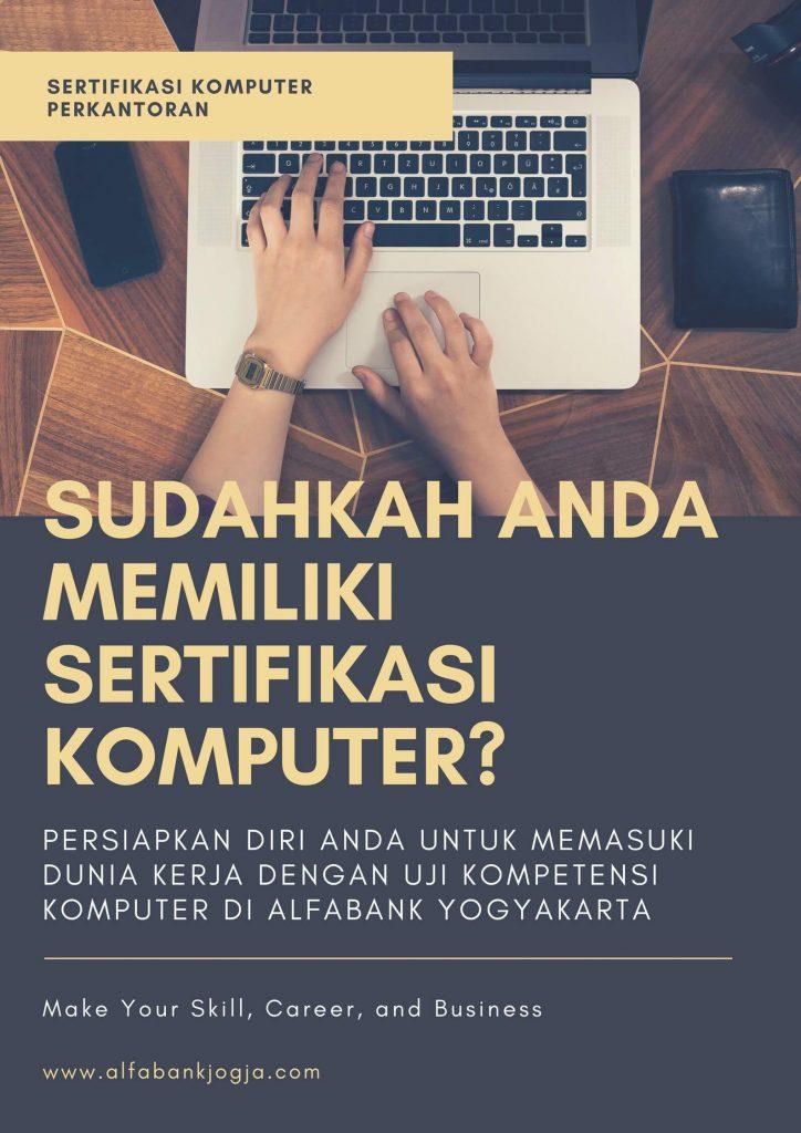 Sertifikasi Komputer Alfabank Yogyakarta